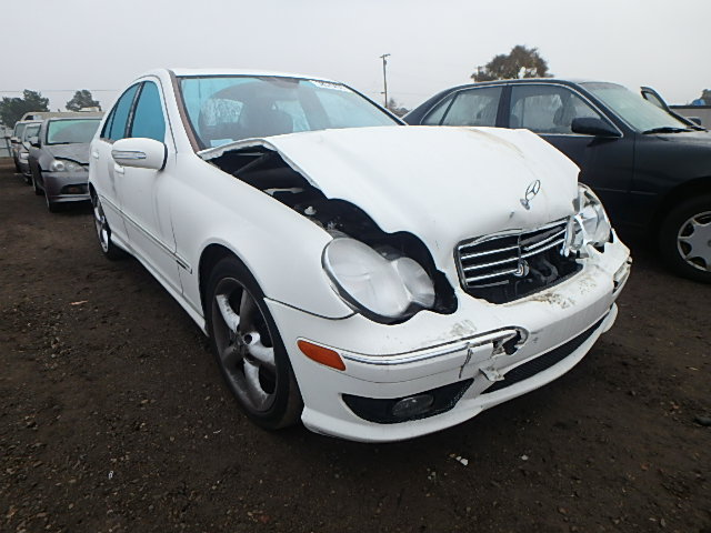 WDBRF52H26F827346 Mercedes-Benz C-class W203 / S203 / C203 2006