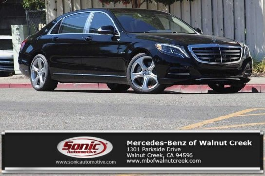 ... 2016 MERCEDES BENZ MAYBACH S600 For Sale In Walnut Creek, CA    $194065.00 ...