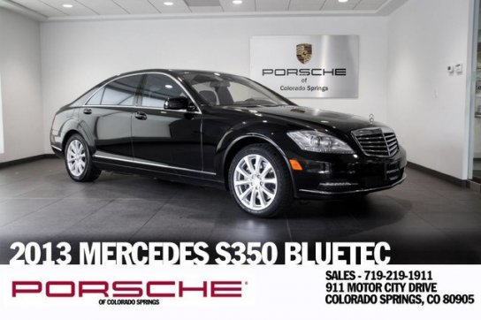 ... 2013 MERCEDES BENZ S350 For Sale In Colorado Springs, CO   $29395.00 ...