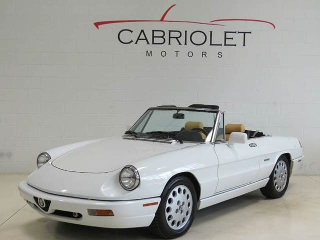 ALFA ROMEO SPIDER For Sale In Raleigh NC ZARBBNM - 1991 alfa romeo spider for sale
