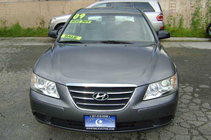 used Hyundai Sonata 2009 vin: 5NPET46C79H539821