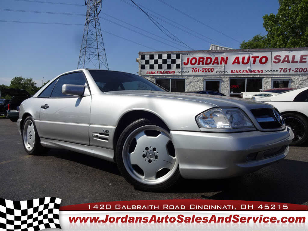 1998 mercedes benz sl600 for sale in cincinnati oh for Used mercedes benz for sale in ohio
