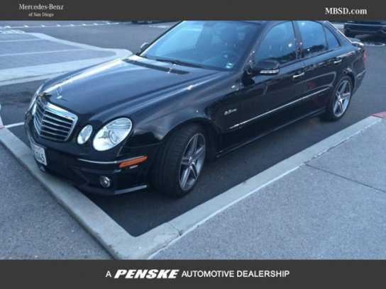 Worksheet. 2009 MERCEDESBENZ E63 AMG for Sale in SAN DIEGO CA