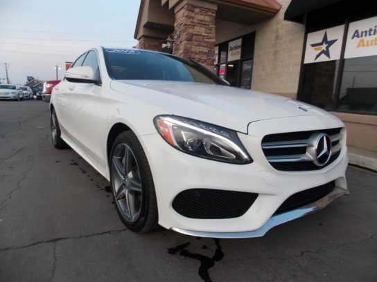 2015 mercedes benz c400 for sale in st george ut for Mercedes benz dealer st george utah