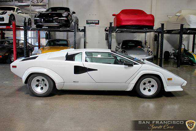 1984 Lamborghini Countach 5000s For Sale In San Carlos Ca