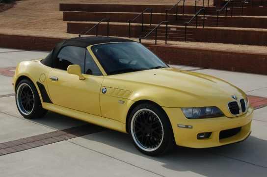 Bmw Z3 Yellow For Sale