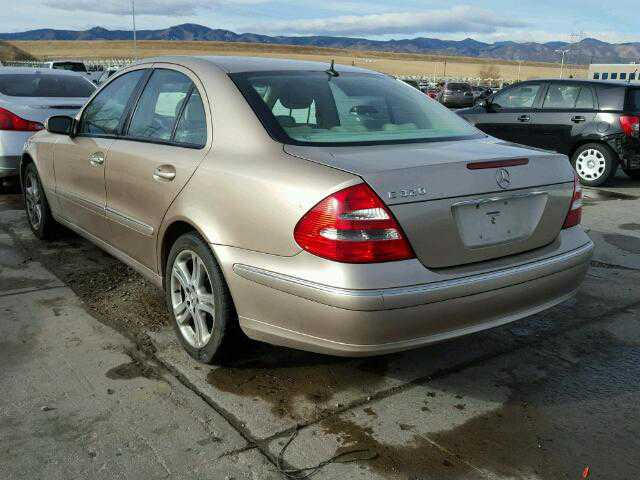 2003 Mercedes Benz E320 For Sale In Littleton Co