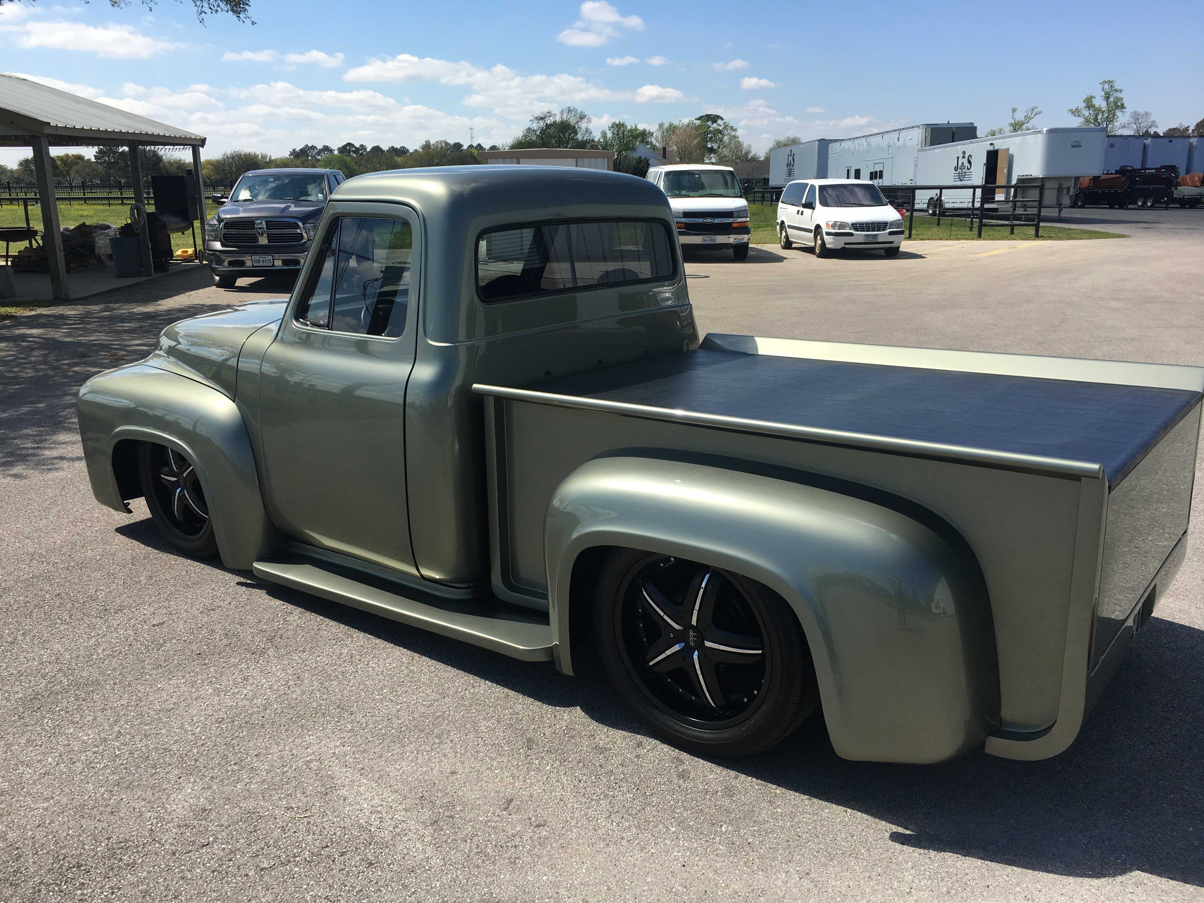 1954 Ford F100 For Sale In Huffman Tx F25v4p20313 Pickup Truck