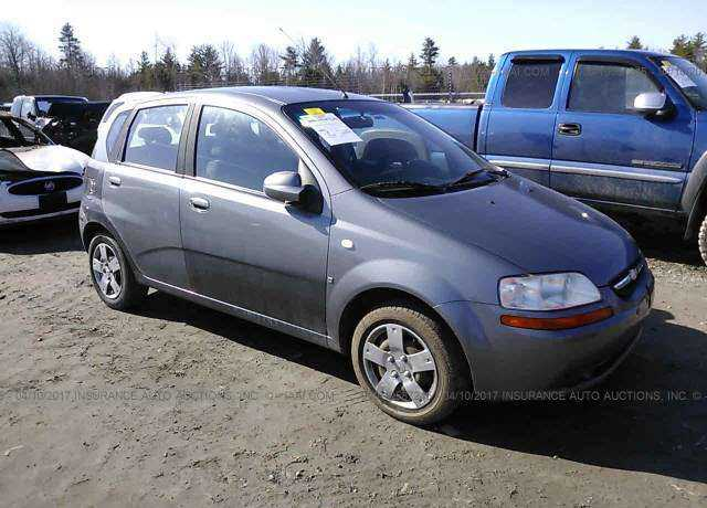 2007 chevrolet aveo for sale in gorham me kl1td666x7b746199. Black Bedroom Furniture Sets. Home Design Ideas