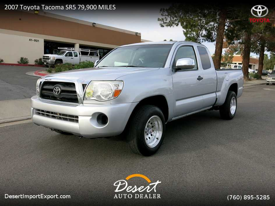 2007 toyota tacoma for sale in palm desert ca. Black Bedroom Furniture Sets. Home Design Ideas