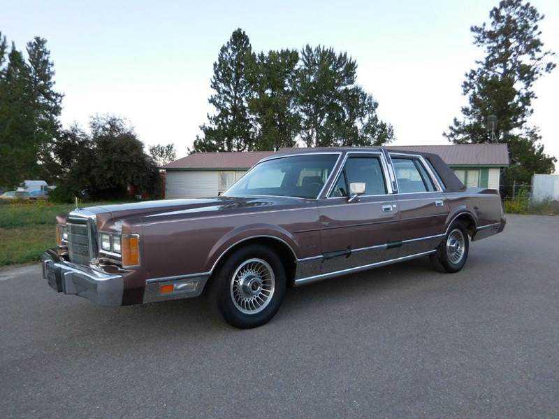 1989 lincoln town car for sale in el cajon ca 1lnbm81f3ky783989. Black Bedroom Furniture Sets. Home Design Ideas