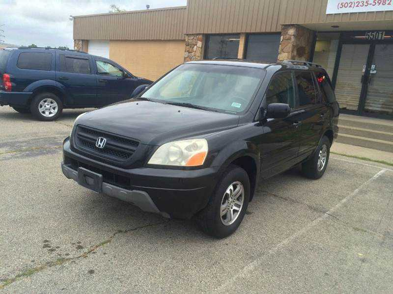2003 honda pilot for sale in louisville ky. Black Bedroom Furniture Sets. Home Design Ideas