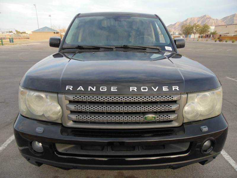 Used Land Rover Range Rover For Sale In Las Vegas Nv >> 2006 Land Rover Range Rover Sport for sale in Las Vegas ...