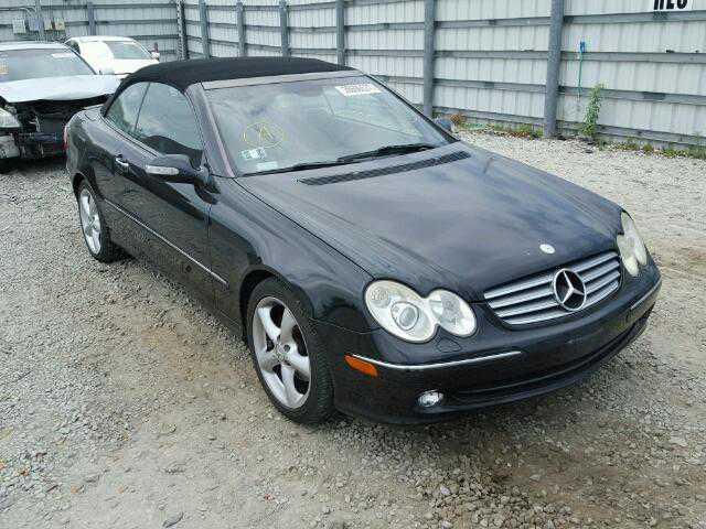 WDBTK65G75T054836 Mercedes-Benz CLK-class A209 / C209 2005