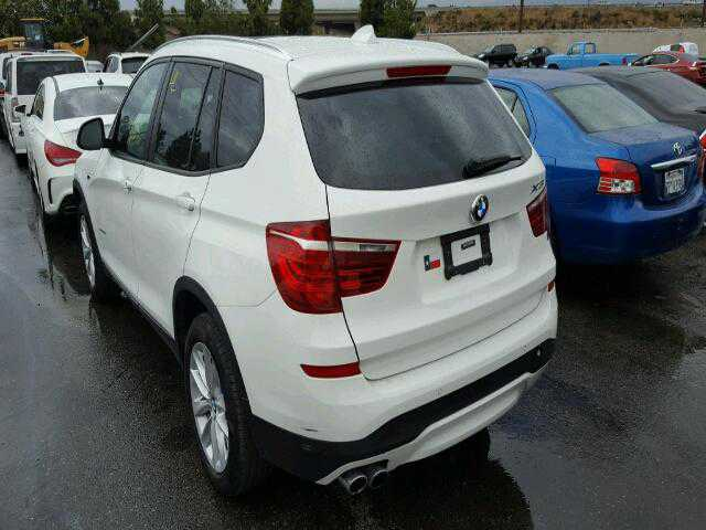 2017 bmw x3 sdrive2 for sale in rancho cucamonga ca 5uxwz7c39h0v88974. Black Bedroom Furniture Sets. Home Design Ideas