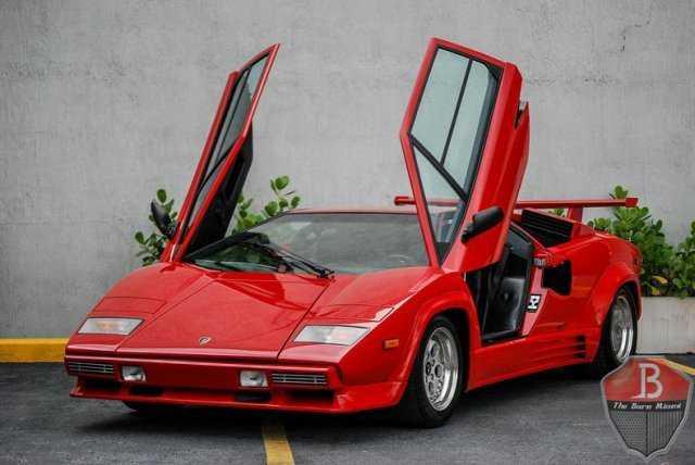 1988 Lamborghini Countach For Sale In Miami Fl Za9ca05a4jla12334