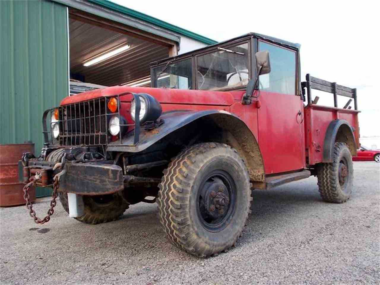 1961 Dodge Power Wagon M37 For Sale In Knightstown Pickup Truck Prev