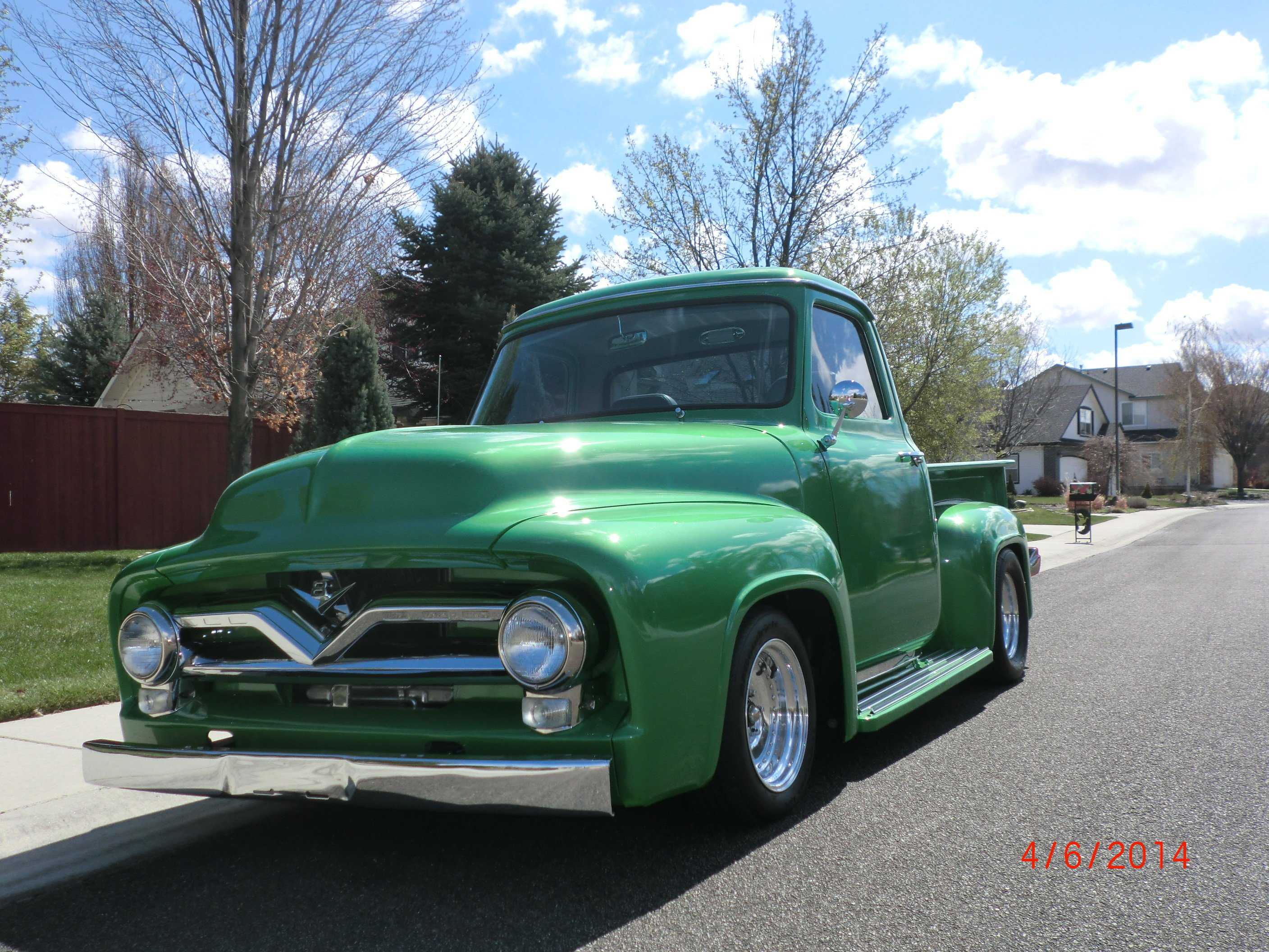 1955 Ford F100 For Sale In Boise Id Hood