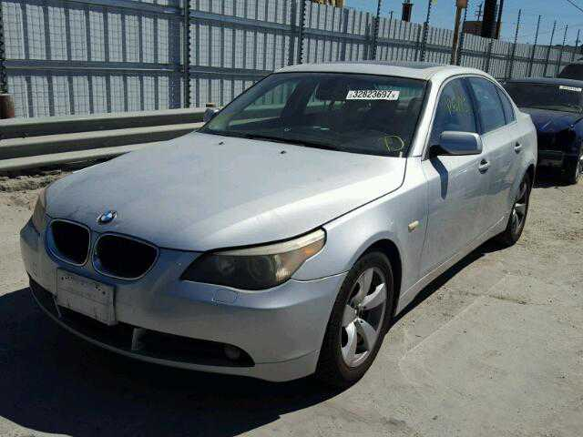 2004 BMW 530I for Sale in SUN VALLEY CA  WBANA73594B064371