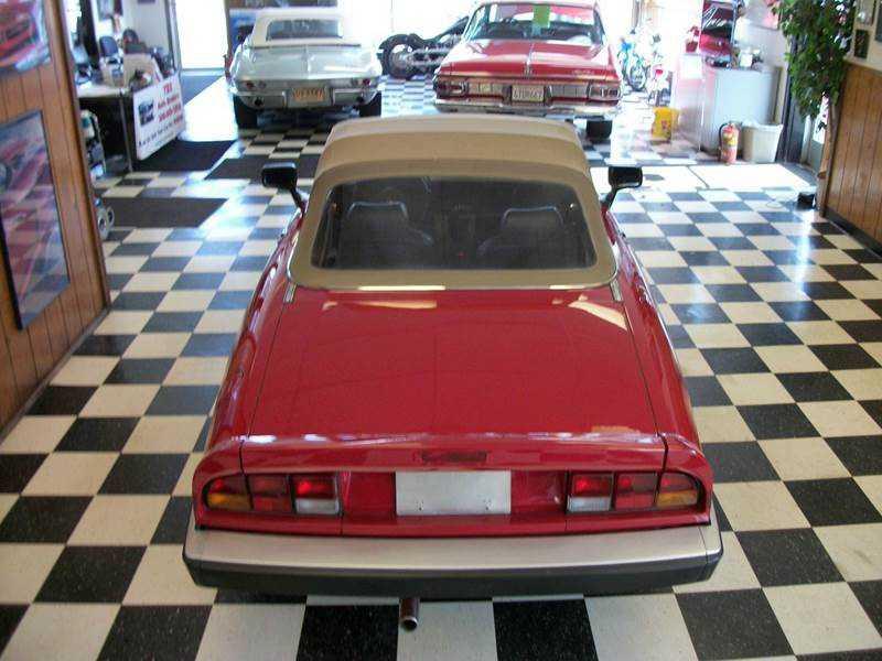 Alfa Romeo Spider For Sale In Farmington MI ZARBA - 1986 alfa romeo spider for sale