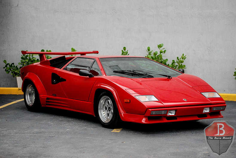 1988 lamborghini countach for sale in southwest ranches. Black Bedroom Furniture Sets. Home Design Ideas