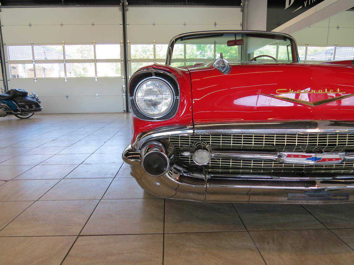 1957 Chevrolet Bel Air For Sale In St Charles Il Vc57f198331 Vin Tag Prev