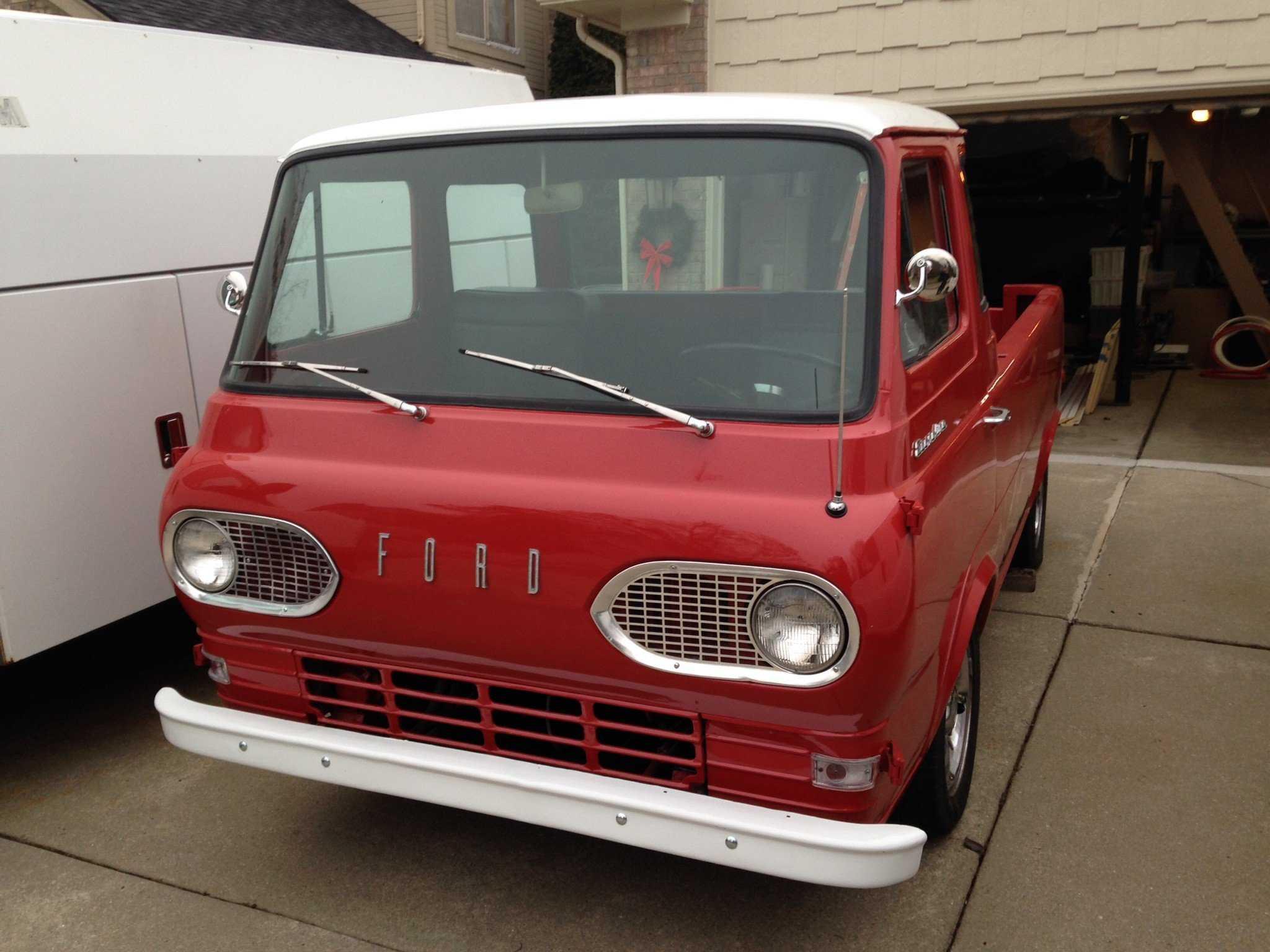 1961 Ford Econoline Pickup For Sale In Novi Mi E10sh133455 Truck