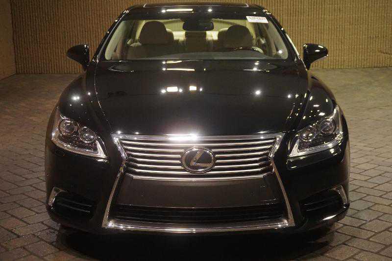 Lexus front view