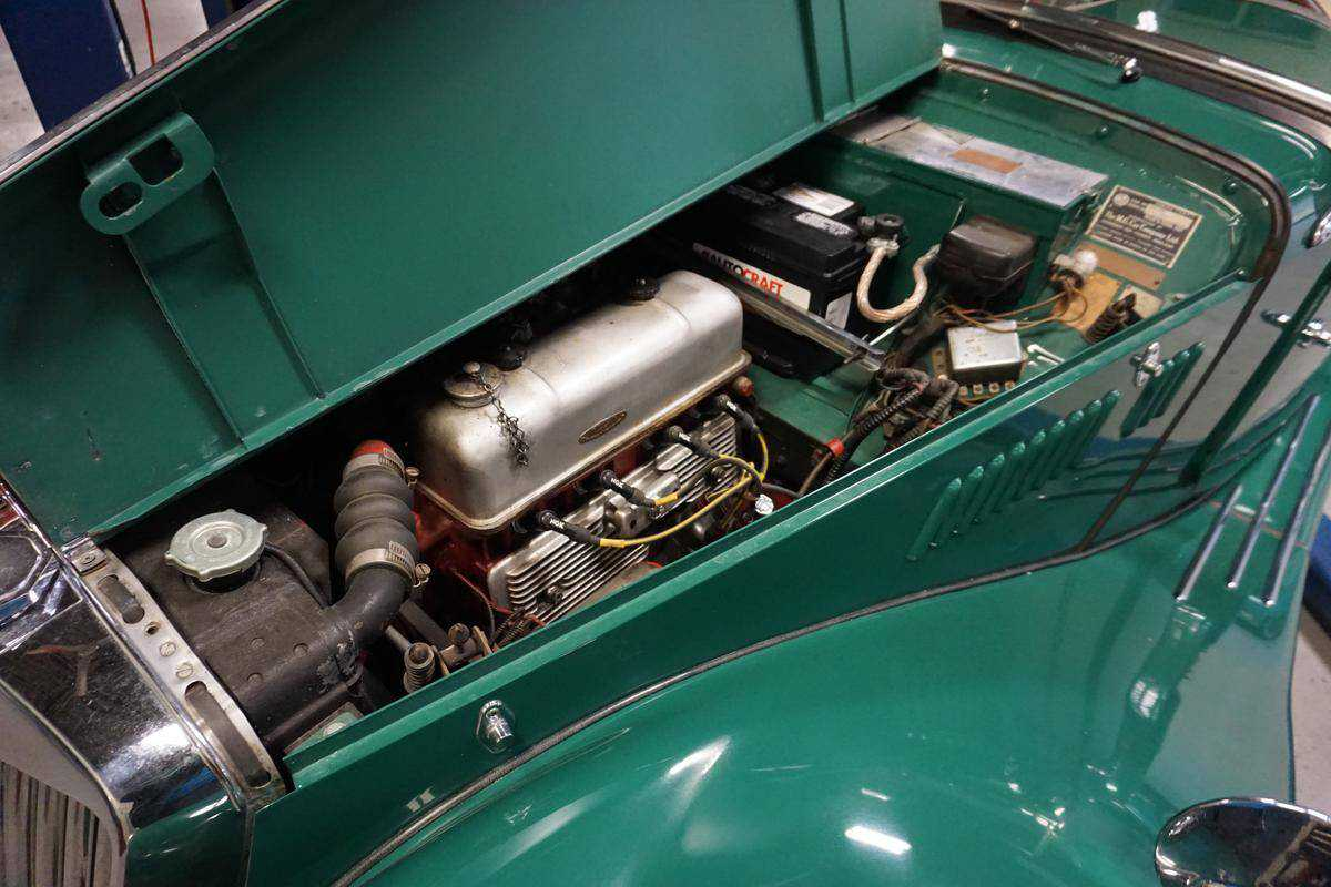 1954 MG TF for sale in Old Saybrook, CT   4DE431255