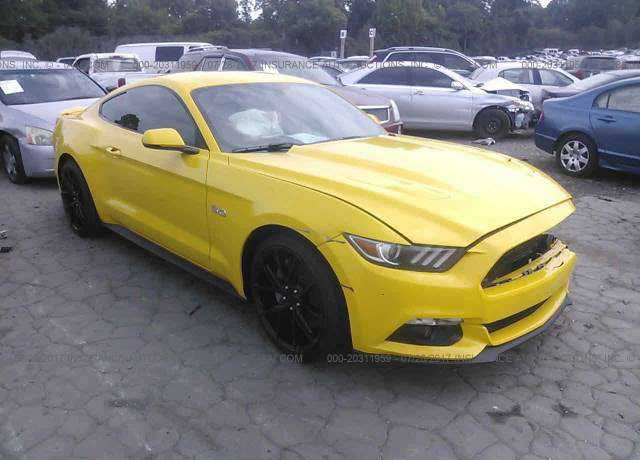 1FA6P8CF1F5316318 Ford Mustang / GT 500 Shelby 2015