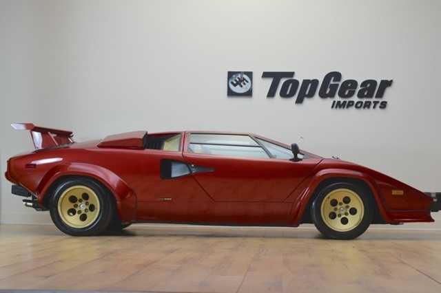 1987 Lamborghini Countach For Sale In Bridgeton Nj Za9ca05axhla12056