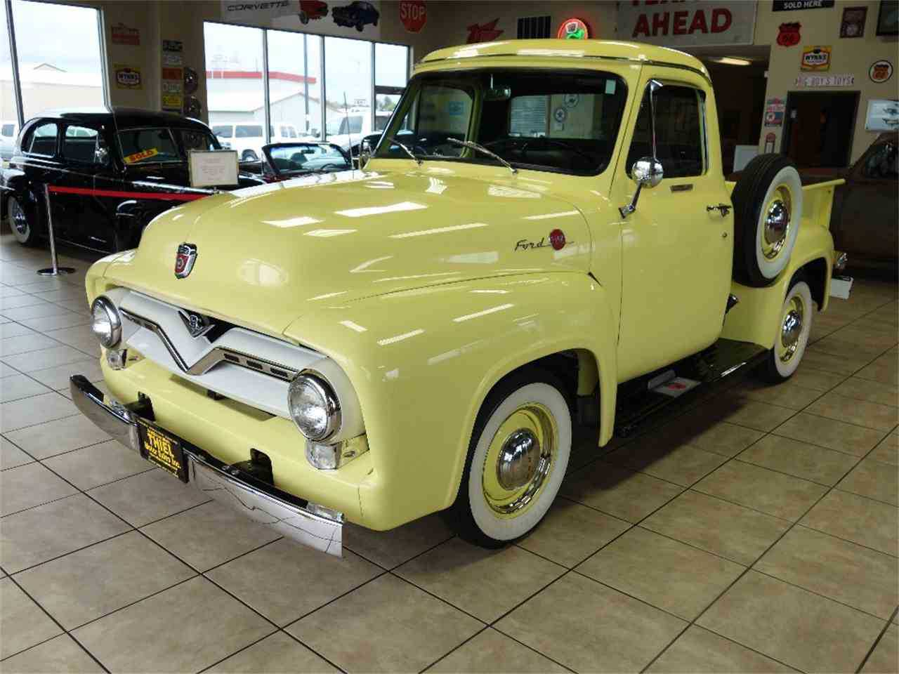 1955 Ford F100 For Sale In Des Monies Ia F10v5m18577 Truck Interior