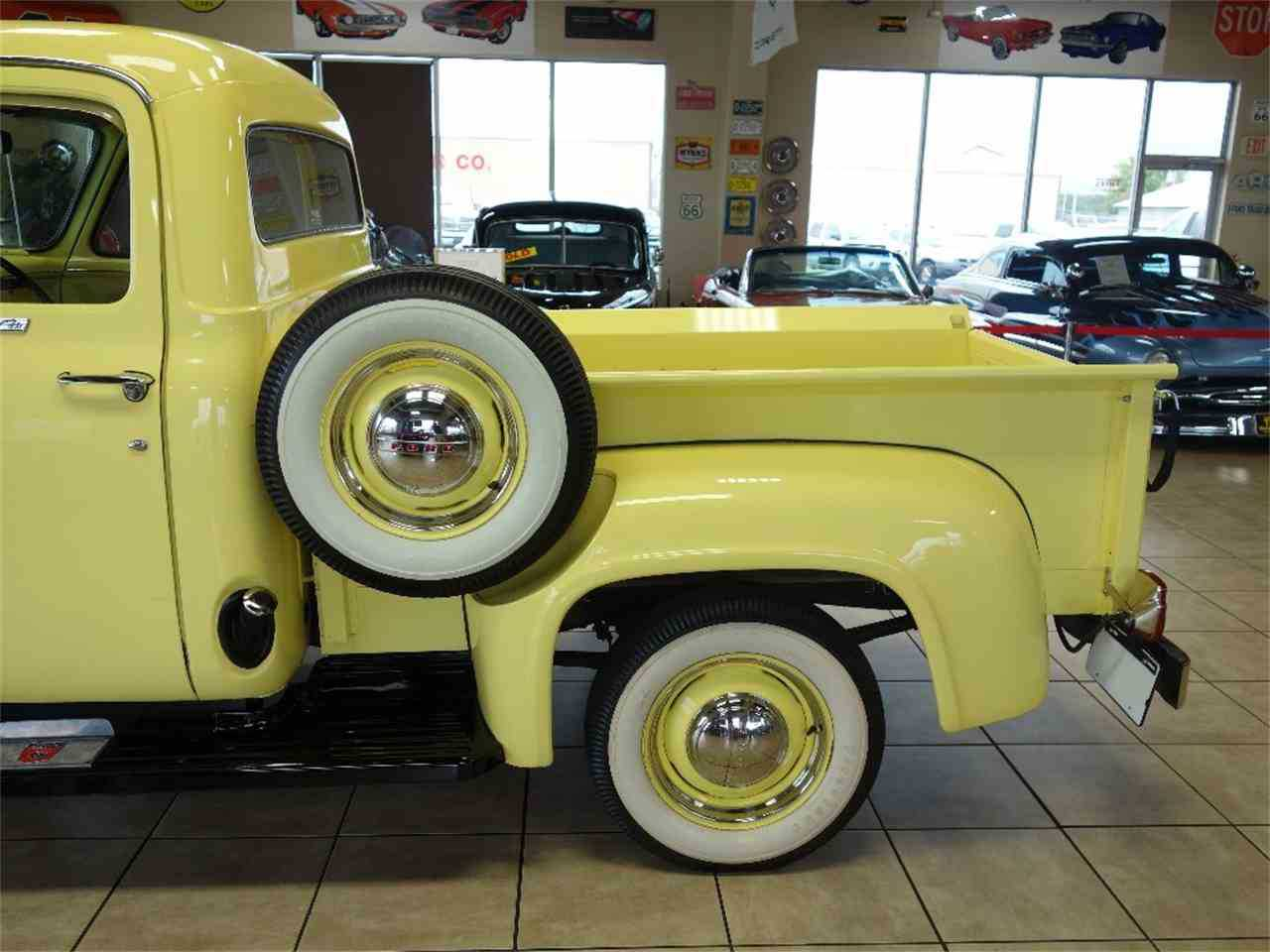 1955 Ford F100 For Sale In Des Monies Ia F10v5m18577 Interior