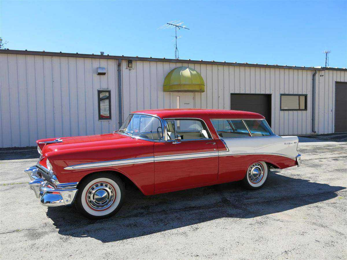 1956 Chevrolet Nomad For Sale In Manitowoc Wi Vc56l090903