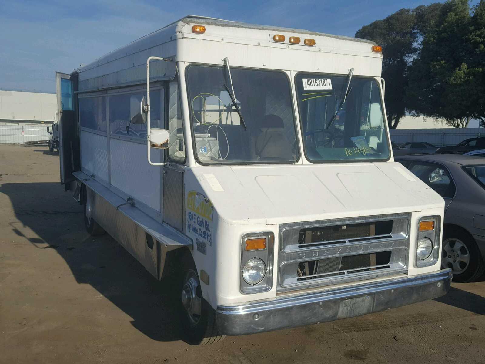 1982 CHEVROLET P30 for sale in HAYWARD, CA | 1GCHP32MXC3302382