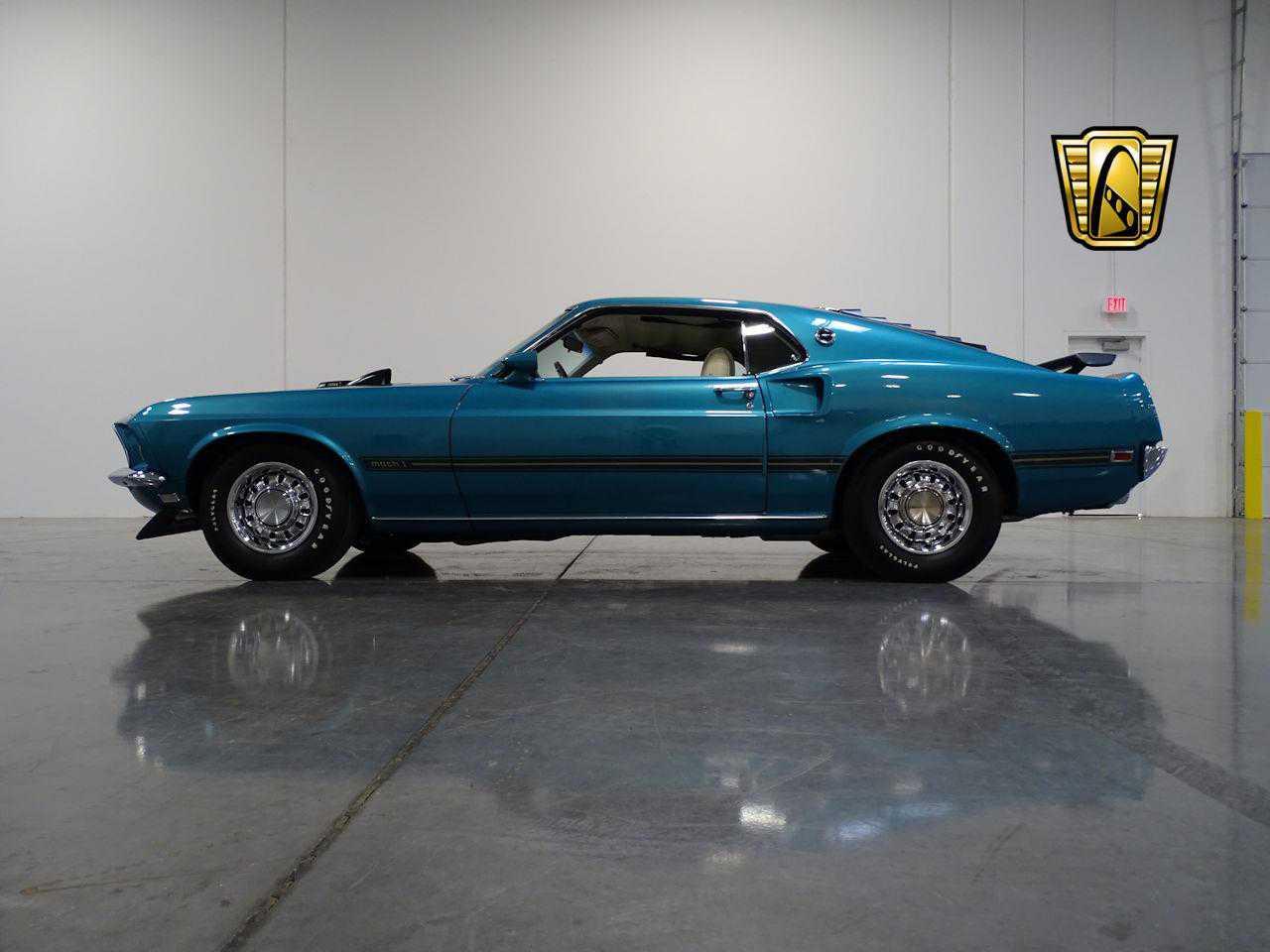 1969 Ford Mustang For Sale In Deer Valley Az Gccsct131 Mach 1 Gulfstream Aqua Prev Next