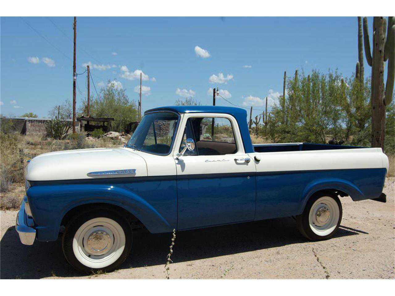 1961 Ford F100 For Sale In F10ck172176 Pick Up
