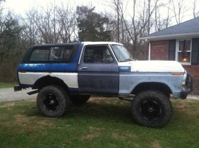 1978 ford bronco for sale in cadillac mi aah11817. Black Bedroom Furniture Sets. Home Design Ideas
