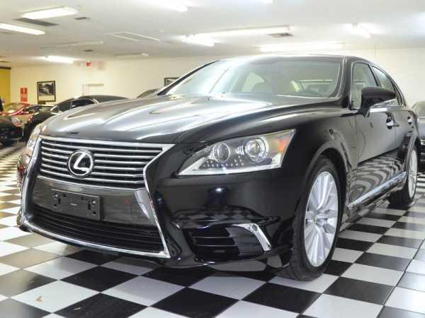 New Lexus front 3/4 view