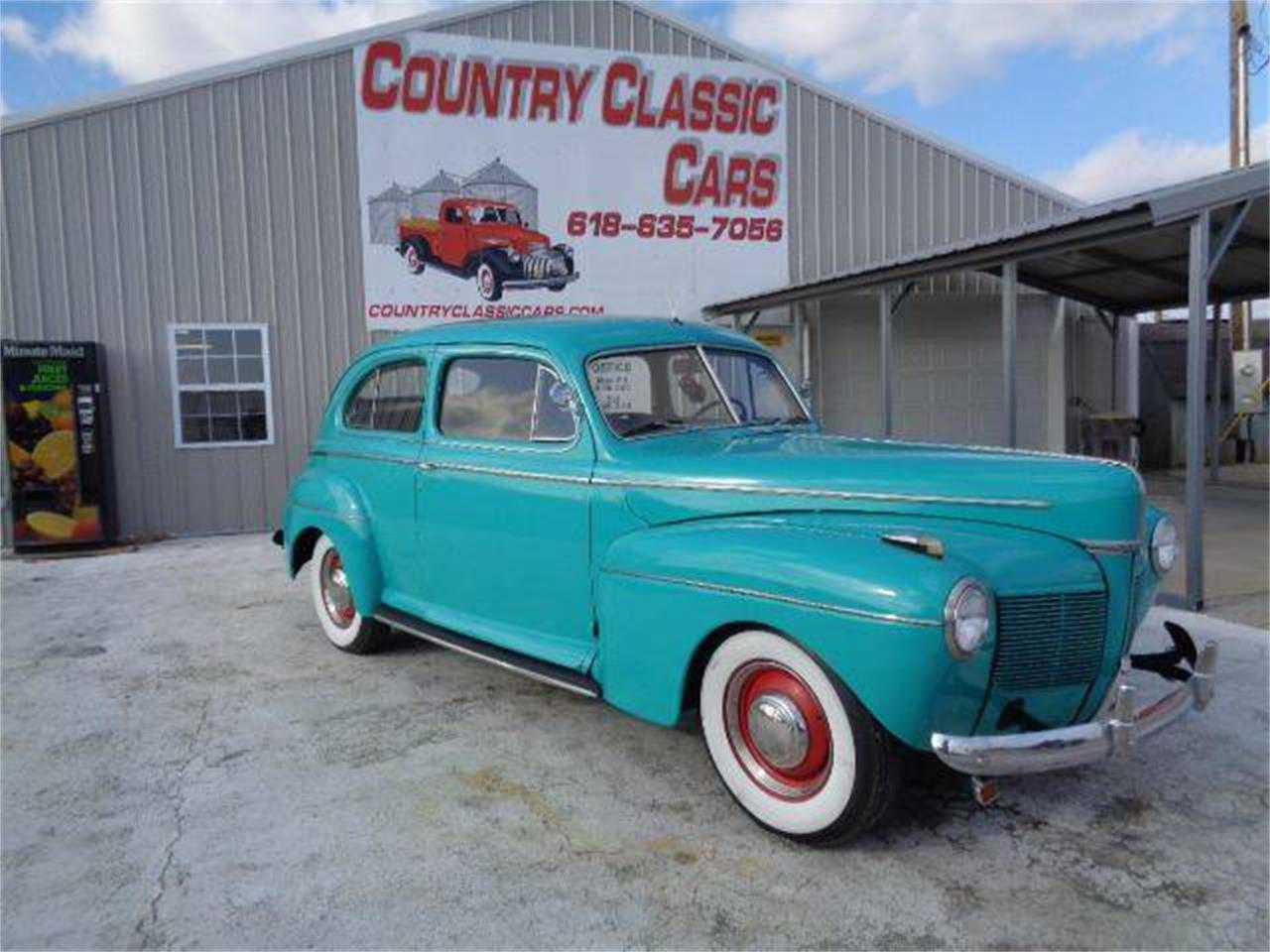 Mercury For Sale 1941 4 Door Sedan 2 Dr Coupe