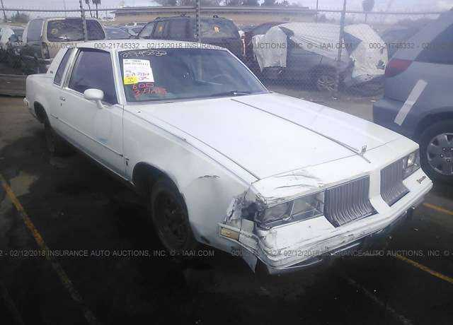 1984 OLDSMOBILE CUTLASS SUPREME for sale in Fresno, CA