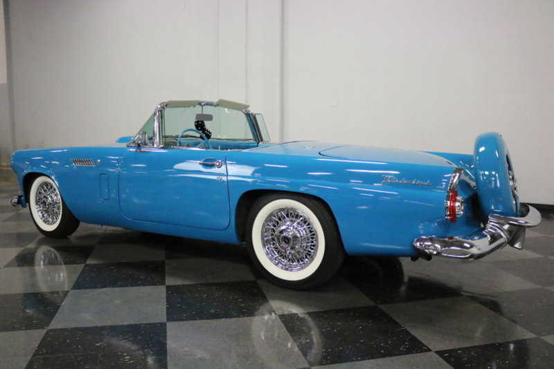 1956 ford thunderbird for sale in fort worth tx. Black Bedroom Furniture Sets. Home Design Ideas