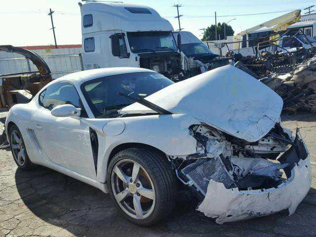 WP0AA29877U762847 Porsche Cayman / Boxster 2007