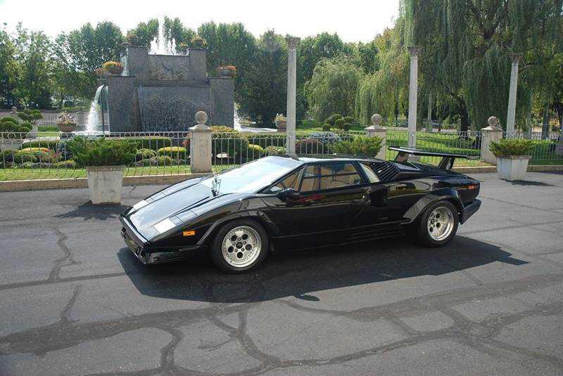 1989 Lamborghini Countach For Sale In Bensalem Pa Za9ca05a6kla12627