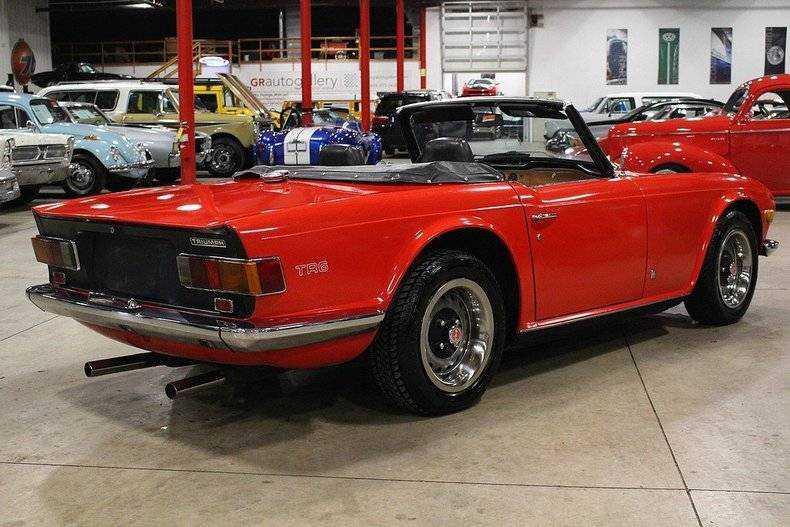 1972 Triumph TR6 for sale in Kentwood, MI   CC58848L