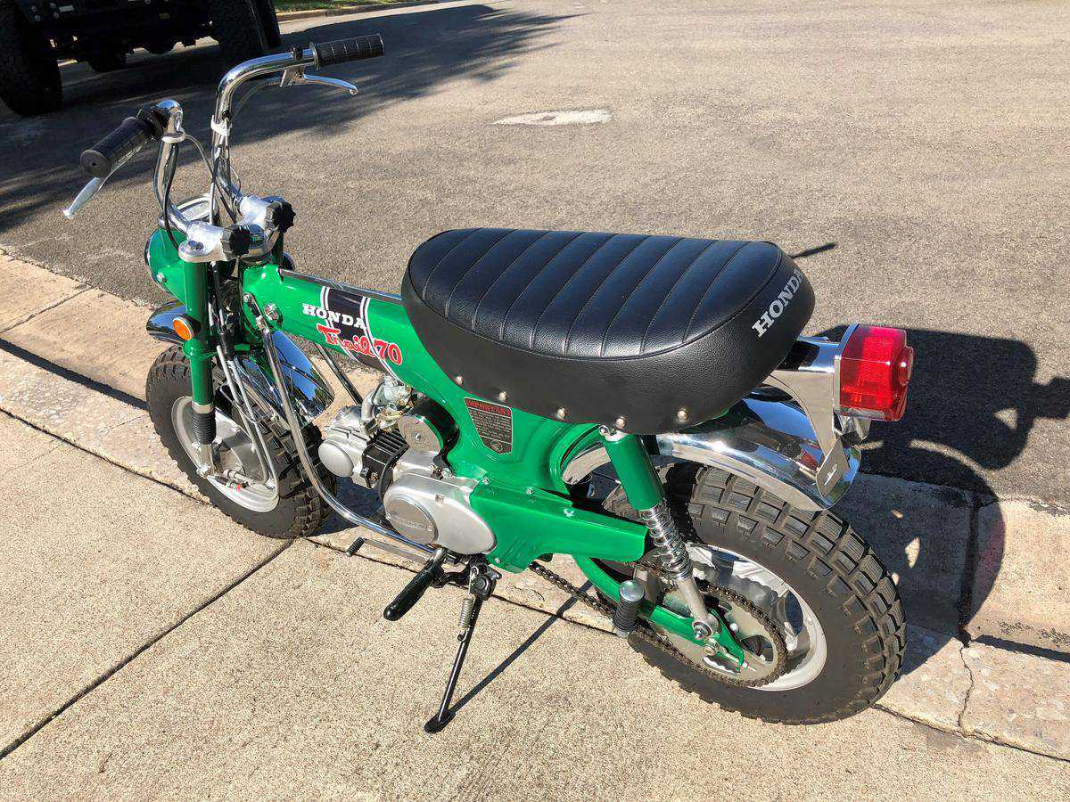 1971 Honda Trail 70 For Sale In Raleigh Nc Ct70h156951 1970 Ct70 Moped