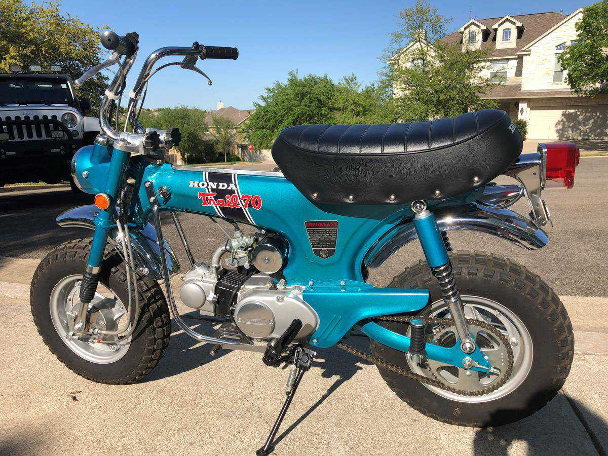 1971 Honda Trail 70 For Sale In Raleigh Nc Ct70h147389 1970 Ct70 Moped