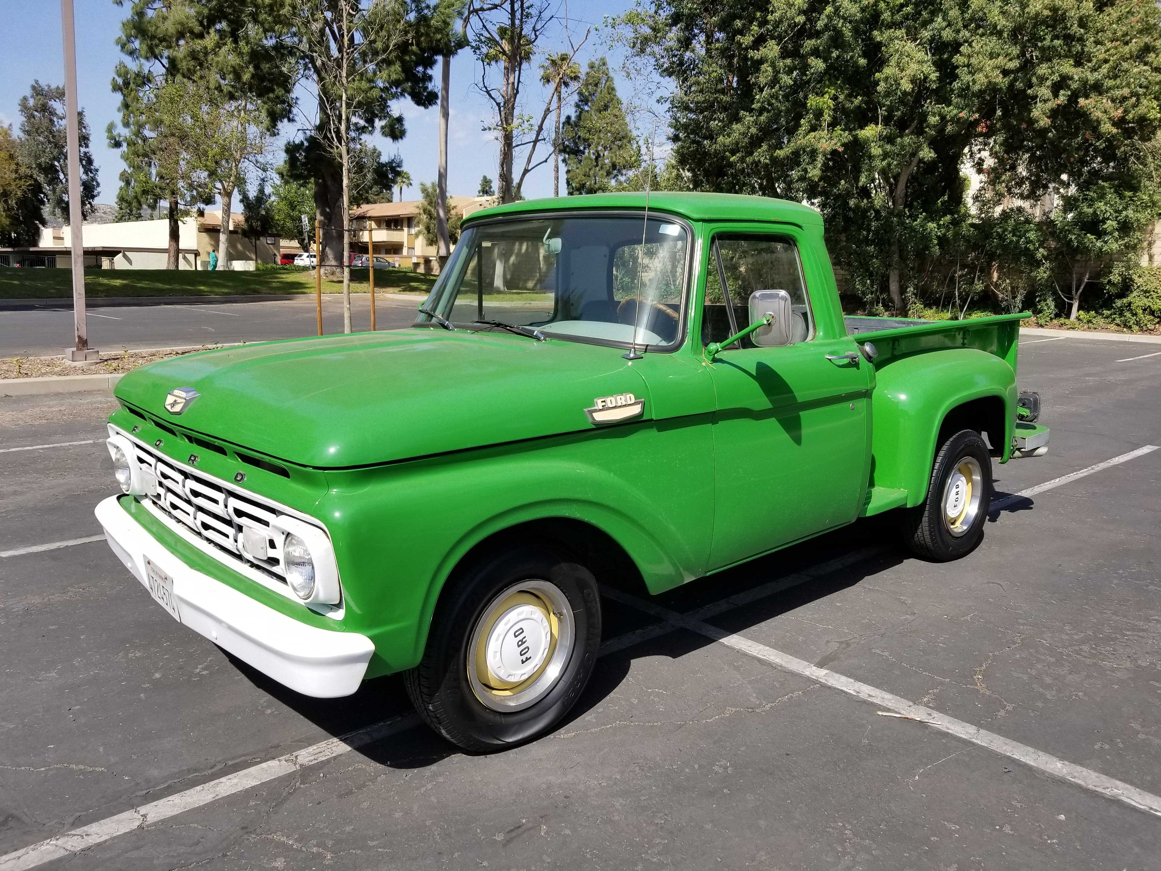 1964 Ford F100 For Sale In Oxnard Ca Pickup Truck