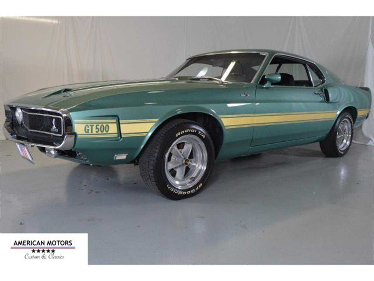 1969 Ford Mustang Shelby Gt500 For Sale In 9f02r480500