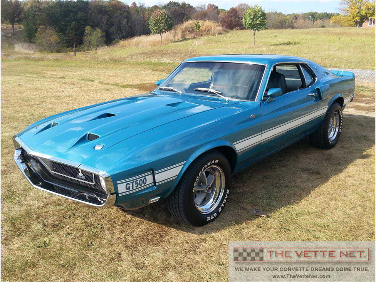 1969 Ford Mustang Shelby Gt500 For Sale In Sarasota Fl 9f02r480223 Mach 1 Gulfstream Aqua
